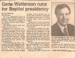 Newspaper - The Shelby Star- Oct 5 1989 - Gene Watterson