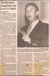 Newspaper Clipping - Shelby Star-  Gene Watterson