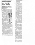 Newspaper Clipping- 1994 - Gene Watterson by Bethany Bradsher