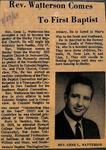 Newspaper Clipping - July 27, 1969 - Gene Watterson