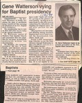 Newspaper Clipping - Nov 14, 1989 - Gene Watterson