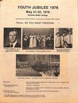 Youth Jubilee 1976 Flyer Advert- Gene Watterson