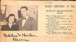 Christmas Card - 1948 - Harlan Harris