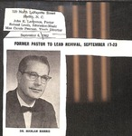 Clipping - Sept. 6 1962 - Harlan Harris by Unknown
