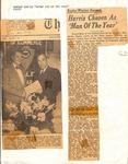 Newspaper Clipping - Jan. 23, 1953 - Harlan Harris