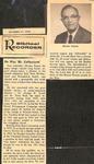 Magazine - Biblical Recorder - Oct. 31, 1970 - Horace Easom