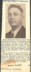Magazine - Biblical Recorder - Jan. 14, 1956 - Horace Easom by Unknown