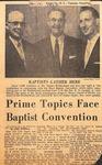 News Clipping - Nov. 15, 1955 - Horace Easom by Karl Flemming