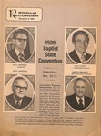 Magazine - Biblical Recorder- Nov. 8, 1980 - John Lawrence