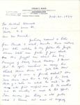Correspondence - 1964 - R. Hubbard Hamrick and Edgar E. White
