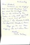 Correspondence - September 19, 1963 - Alma Newman by Alma Newman