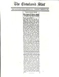 News Clipping Collection - 1917 - The Cleveland Star - Dr. Lee McBride White & First Baptist Church