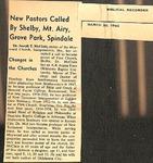 Magazine - Biblical Recorder - March 20 1965 - Joseph McClain by Unknown