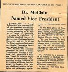Newspaper - The Cleveland Times - Oct 24 1968 - Joseph McClain by The Cleveland Times