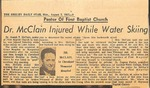 Newspaper - The Shelby Daily Star - Aug 2 1965- Joseph McClain by The Shelby Daily Star