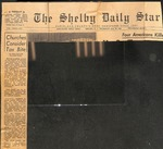 Newspaper - The Shelby Daily Star - July 18 1968- Joseph McClain by The Shelby Daily Star