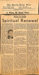 Newspaper - The Shelby Daily Star - May 22 1965 - Joseph McClain by Joseph T. McClain