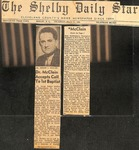 Newspaper- The Shelby Daily Star- March 11 1965 - Joseph McClain by The Shelby Daily Star