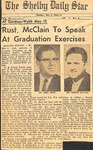 Newspaper- The Shelby Daily Star- May 2 1966 - Joseph McClain by The Shelby Daily Star