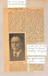 News Clippings - Lewis Walter Swope