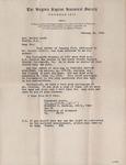 Correspondence - January 26, 1966 - Woodford B. Hackley, Virginia Baptist Historical Society