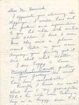 Correspondence - 1962 - R. Hubbard Hamrick and Alice Siles