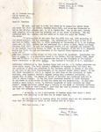 Correspondence - R. Hubbard Hamrick & Mary L. Cobb