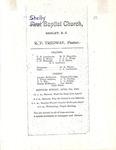 Invitation to Sunday Services - R. F. Tredway