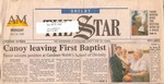 Newspaper- The Shelby Star - June 1 2000- Robert Canoy