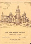 Bulletin - June 15-22, 1947 by First Baptist Church Shelby