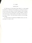 W. D. Hubbard - Twentieth Pastor