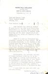 Correspondence - Roland Leath & J. A. McLeod - 1963 by J. A. McLeod