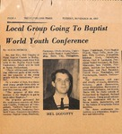 News Clipping - The Cleveland Times - Nov. 28, 1967 by Alicia Bridges