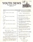 Youth News - Aug. 30, 1964 by First Baptist Church Shelby