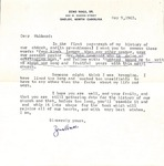 Correspondence - May 9, 1963 - Hubbard Hamrick