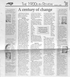 Magazine - Biblical Recorder - Jan. 1, 2000 - Dr. Zeno Wall by Unknown