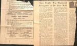 Magazine - Charity and Children - Sept. 21, 1967 - Zeno Wall