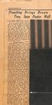 News Clipping - Zeno Wall