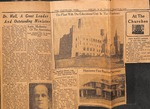 Newspaper - The Cleveland Star - March 29, 1929 - Zeno Wall