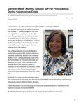 Gardner-Webb Alumna Adjusts to First Principalship During Coronavirus Crisis