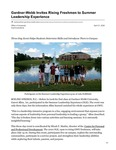 Gardner-Webb Invites Rising Freshmen to Summer Leadership Experience
