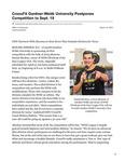 CrossFit Gardner-Webb University Postpones Competition to Sept. 19