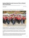 Gardner-Webb University Announces Plans to Rebuild Marching Bulldogs