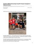 Gardner-Webb University CrossFit Teams Compete in National Event