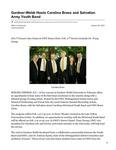 Gardner-Webb Hosts Carolina Brass and Salvation Army Youth Band