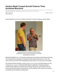 Gardner-Webb Trumpet Summit Features Three Acclaimed Musicians