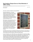 New Scripture Plaques Serve as Visual Reminder of GWU's Calling