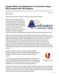 Gardner-Webb and Southeastern Community College (SCC) partner with TAP program