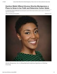 Gardner-Webb Offered Alumna Sherika Montgomery a Place to Grow in her Faith and Determine Career Goals