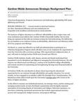 Gardner-Webb Announces Strategic Realignment Plan